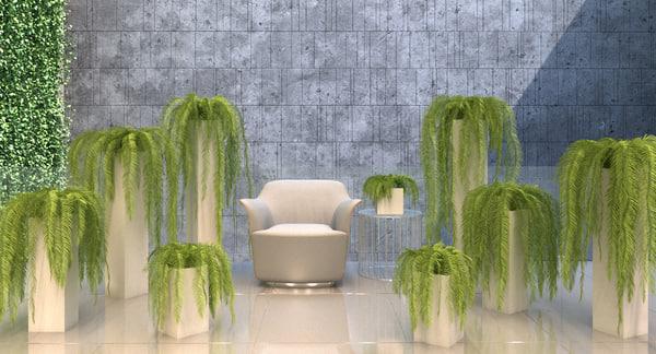 plants 3d max