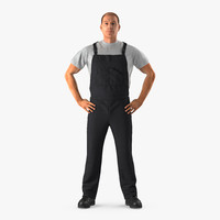 construction worker black uniform max