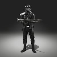 deathtrooper armor blaster blend