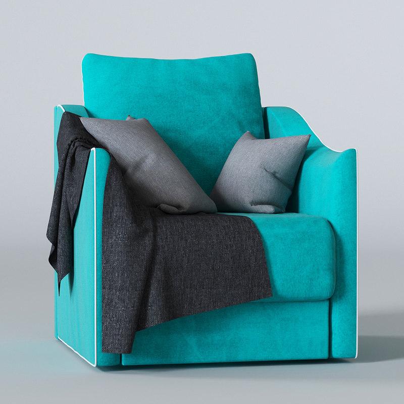 3d moon chair 111 model