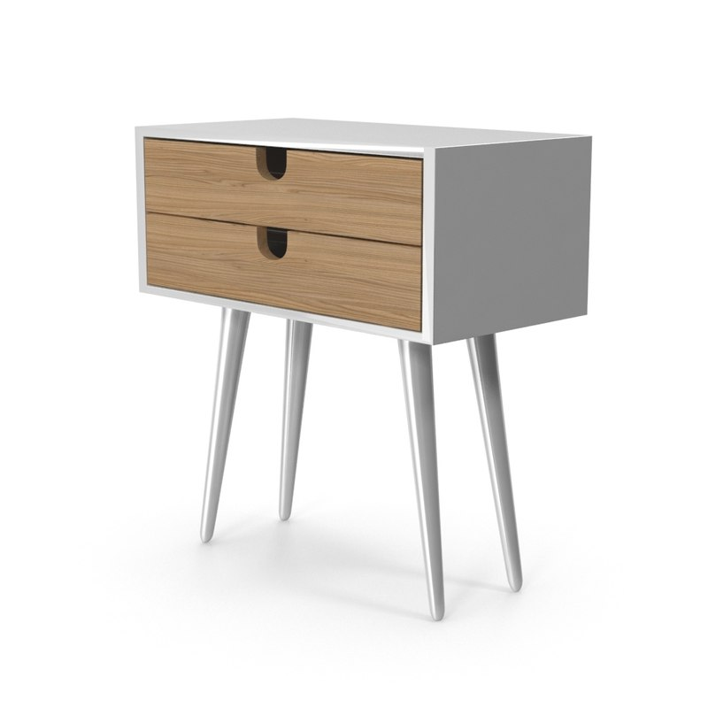 white nightstand max