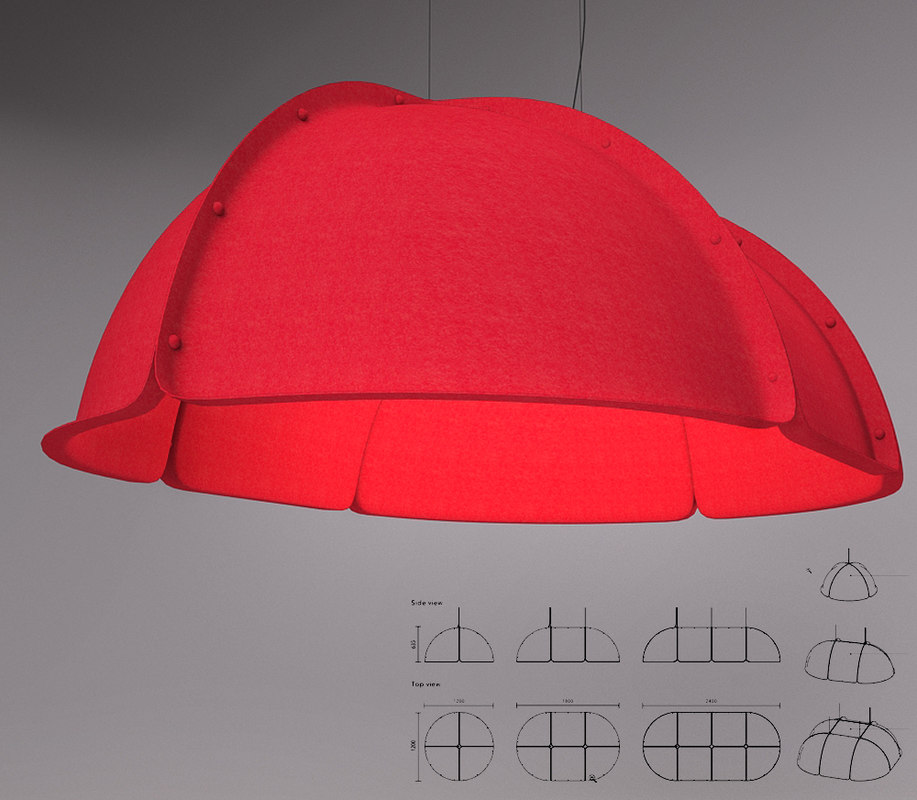 hood lamp atelje lyktan 3d max