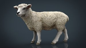 3d model sheep stl