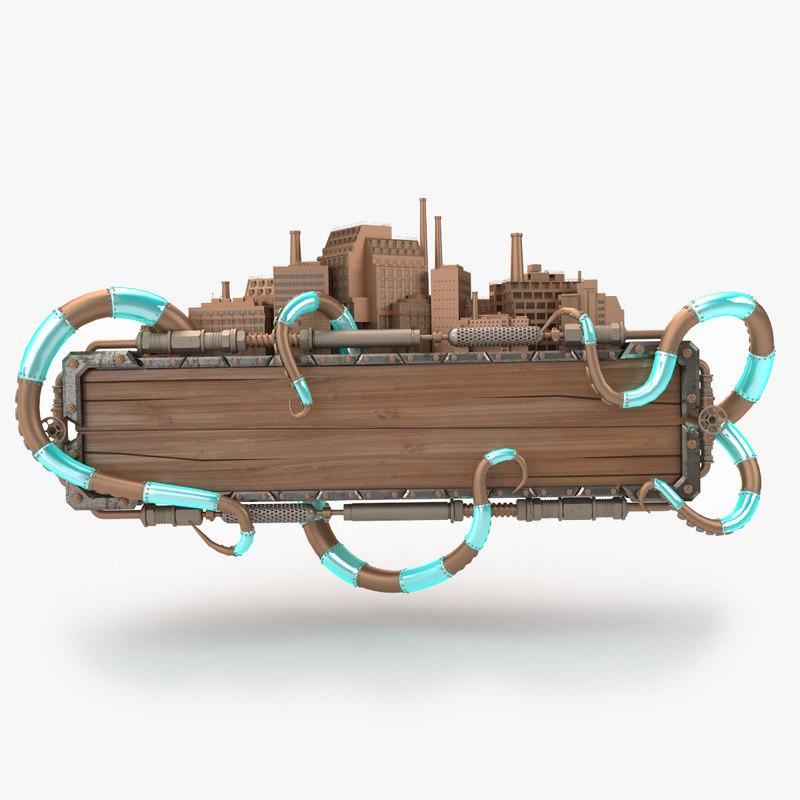 steampunk frame max