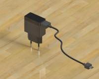3d model usb charger