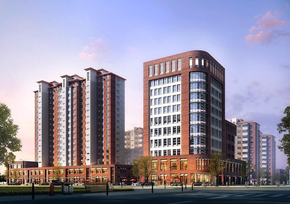 3d apartment office
