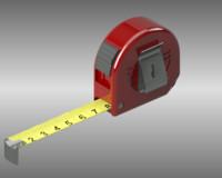 3d model of tape measure