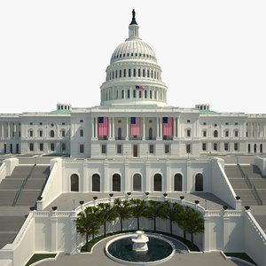 max capitol united states