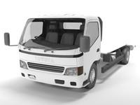 truck toyota platform 3d model