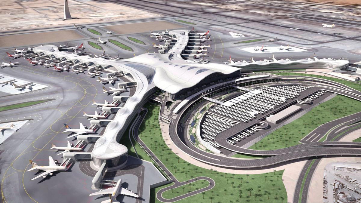 abu dhabi airport 3d model