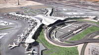 abu dhabi airport 3d model