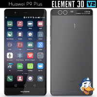 3d huawei p9 element