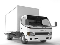 3d toyota toyoace model