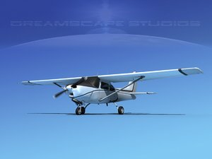 3d model cessna 172 cutlass 172rg
