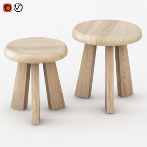 chair giobbe achille 3d 3ds