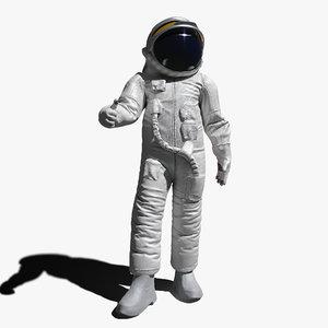 astronaut pbr 3d model