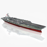 3d model uss george washington cvn-73