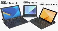 3d realistic samsung galaxy tab model