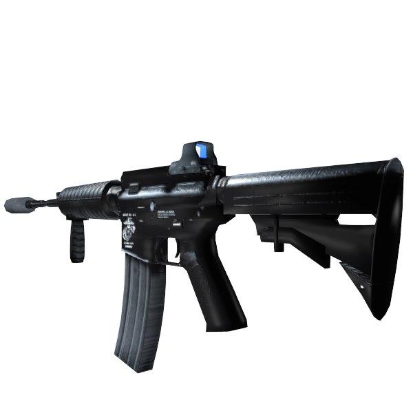 3d assault rifle