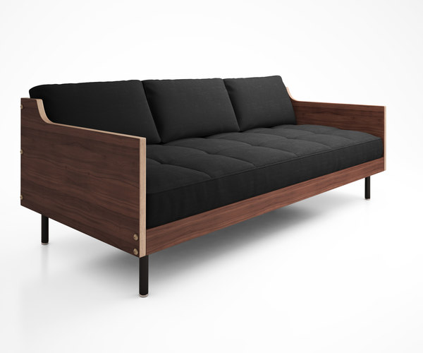 3d model archive sofa gus