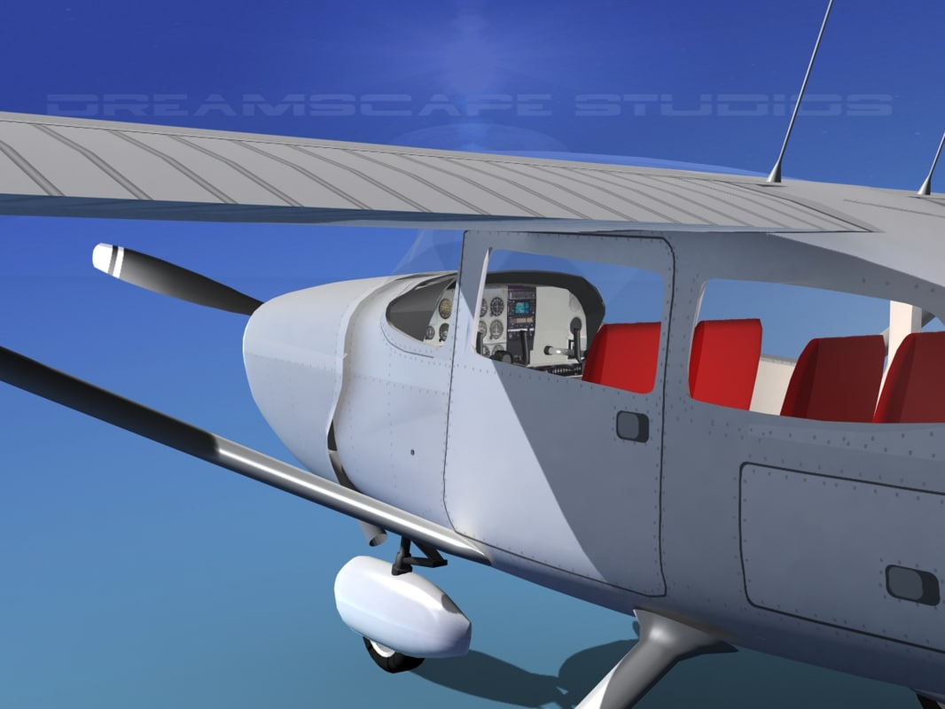 Cessna 172 Skyhawk 1976 White Livery