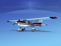 3d model propeller cessna 172 cutlass