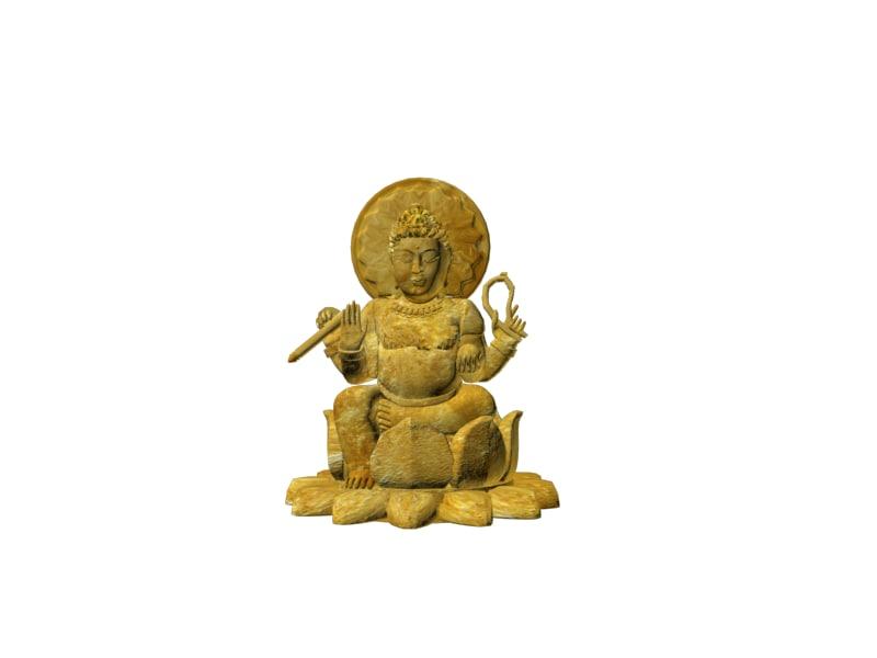 3d model kali indian godess