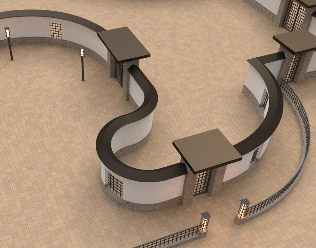 3d modular walls gates