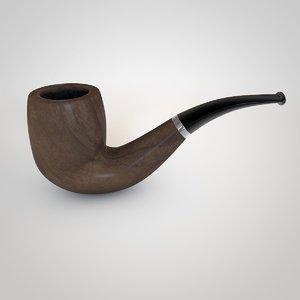 3d model smoking pipe