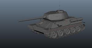 world war 2 tank 3d ma
