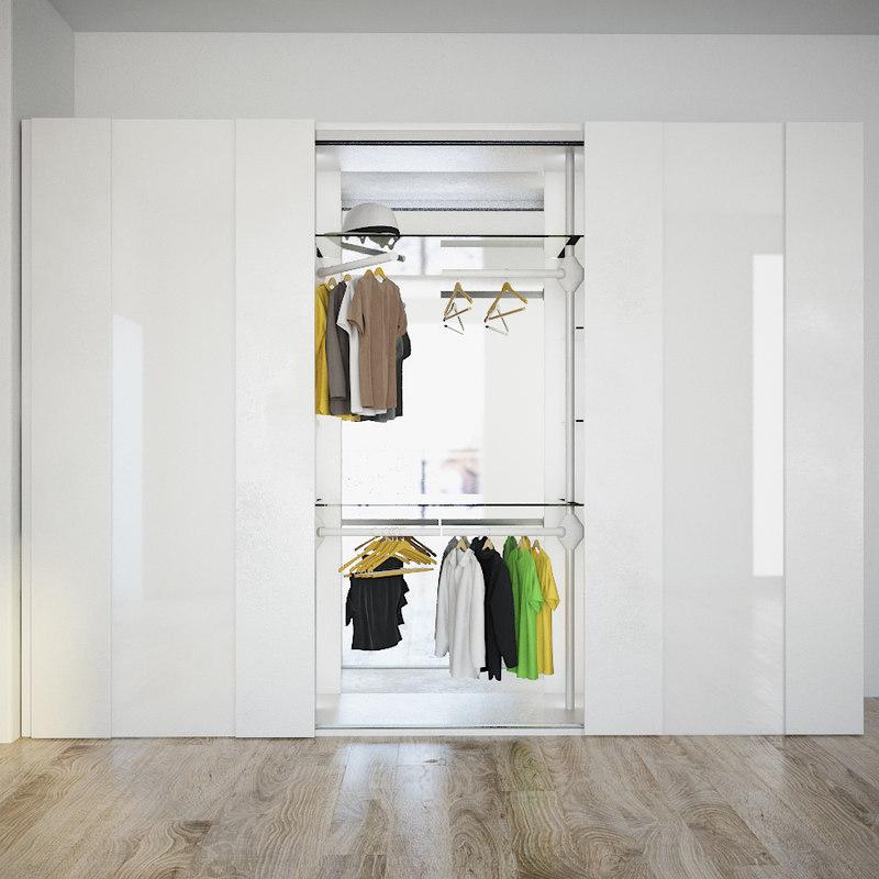 3d wardrobe cloth
