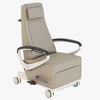 3d model realistic photoreal recline