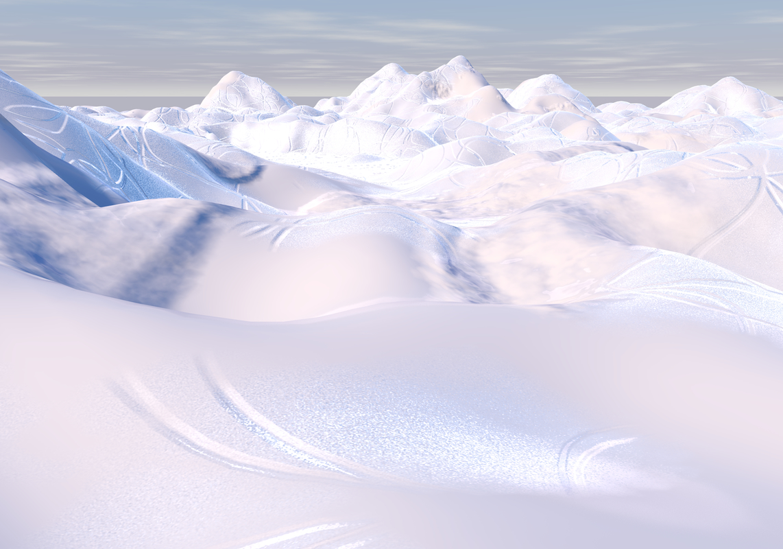 3d model ice cold terrain