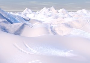 3d model ice cold terrain