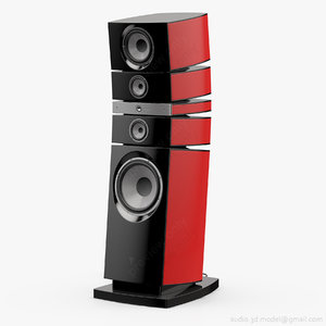 floorstanding focal grande utopia 3d model