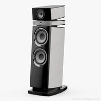 floorstanding focal maestro utopia 3d model
