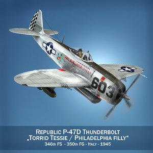 republic thunderbolt - torrid 3ds