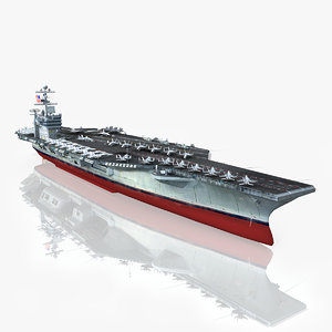 uss harry s truman 3d model