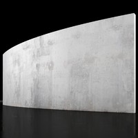 Concrete wall 6m long