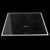 3d model miele modern cooktop