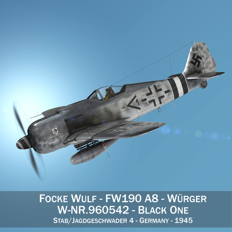 focke wulf - fw190 3ds