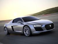 3d model car audi concept custom
