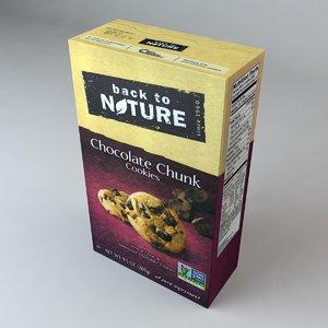 box nature chocolate chunk 3ds