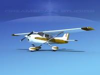 cessna 172 skyhawk 1976 3ds