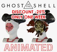 ghost shell geisha 3d model