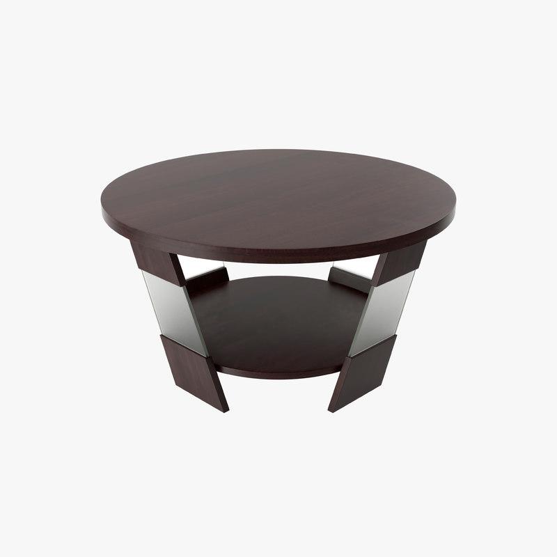 3d k table model