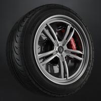 Tire Yokohama avs es100 + Brembo brake system