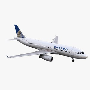 a320 united 3ds