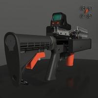 3d model killer drone
