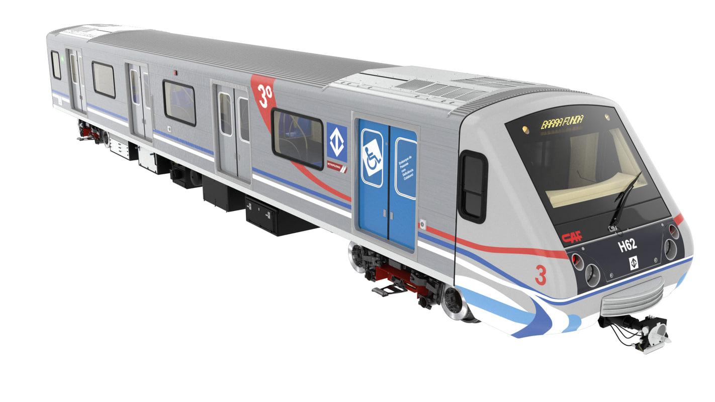 metro 3d c4d